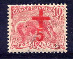 GUYANE - 73° - LAVEUR D'OR / CROIX ROUGE - French Guiana (1886-1949)