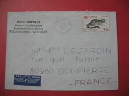 Lettre à Entête Didier Joinville  1987  -  97 232 Lamentin Martinique  Pour La France - Storia Postale