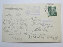 1941 ,  BLAIKEN über Kufstein  , Klarer Stempel  Auf Karte - Briefe U. Dokumente