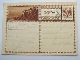 1931 , BAZORA  Post Frastanz  , Klarer Stempel  Auf Karte - Briefe U. Dokumente