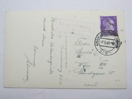 1943 , BRANDENBERG über Kramsach  , Klarer Stempel  Auf Karte - Briefe U. Dokumente