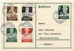 (Lo3020) Karte DR St. Michelfeld - Deutschland