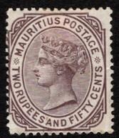 Mauritius - Scott #67 MH - Hinge Remnant - Mauritius (...-1967)