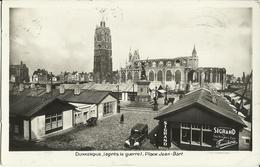 Dunkerque (après La Guerre) -- Place Jean - Bart.    (2 Scans) - Dunkerque