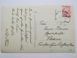 1930 , AU , Post Ötz , Klarer Stempel  Auf Karte - Briefe U. Dokumente