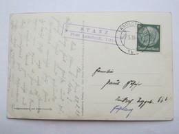 1939 , STANZ Post Landeck , Klarer Stempel  Auf Karte - Briefe U. Dokumente