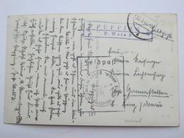 1942 , PUPPING - P. Wels , Klarer Stempel  Auf Karte - Briefe U. Dokumente