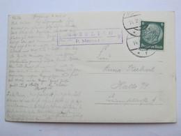 1938 , GINZLING - P. Mayrhofen  , Klarer Stempel  Auf Karte - Briefe U. Dokumente