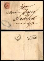 ANTICHI STATI - LOMBARDO VENETO - Distribuzione 1 (P.ti 11) Ripetuto Al Retro - 15 Cent (3a - Prima Tiratura) Corto A De - Stamps