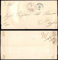 ANTICHI STATI - LOMBARDO VENETO - Caino (azzurro - P.ti 5) - Piego In Franchigia Per Brescia Del 5.9.62 - Stamps