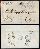 ANTICHI STATI - LOMBARDO VENETO - Calvisano (P.ti 3) - Piego In Franchigia Per Castiglione Del 29.4.63 - Stamps
