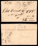 ANTICHI STATI - LOMBARDO VENETO - Mornico (P.ti 5) - Piego In Franchigia Per Città Del 21.11.63 - Stamps