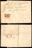 ANTICHI STATI - AUSTRIA TERRITORI ITALIANI - Cavalese - 3 Kreuzer (3) Su Lettera Per Bolzano Del 29.5.57 - Timbres