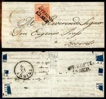 ANTICHI STATI - AUSTRIA TERRITORI ITALIANI - Strigno (P.ti 4) - 3 Kreuzer (3) Su Letterina Per Rovereto - Stamps