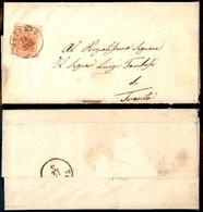 ANTICHI STATI - AUSTRIA TERRITORI ITALIANI - Vezzano (P.ti 4) - 3 Kreuzer (3) Su Lettera Per Trento Del 14.3.54 - Stamps