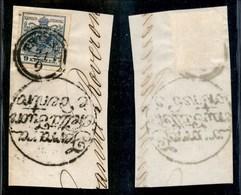 ANTICHI STATI - AUSTRIA TERRITORI ITALIANI - 9 Kreuzer (5) Su Frammento Da Trieste - Ferrara Netta Fuori E Dentro (a Lat - Stamps