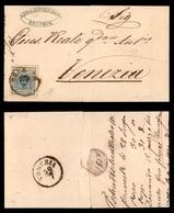 ANTICHI STATI - AUSTRIA TERRITORI ITALIANI - Bruneck - 9 Kreuzer (5) Su Lettera Per Venezia Del 28.7.56 - Diena - Stamps