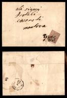 ANTICHI STATI - AUSTRIA TERRITORI ITALIANI - 10 Kreuzer (9) - Lettera Da Trento A Mantova Del 2.12.59 - Timbres