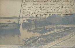 Etaples - Construction Du Pont ( Commentaires Intéressants Sur Les Travaux ) - Etaples
