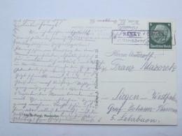 SANCT CORONA - P. Kirchberg  , Klarer Stempel  Auf Karte - Briefe U. Dokumente