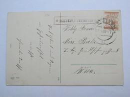 1929 , ZEILLERN P. Amstetten  , Klarer Stempel  Auf Karte - Briefe U. Dokumente