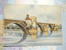 Avignon Le Pont St Bénézet Et La Chapelle St Nicolas Barday - Unclassified