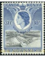 Ref. 336875 * MNH * - EAST AFRICA. 1954. ISABEL II . ISABEL II - Kenya, Uganda & Tanganyika