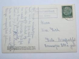 1940 , VORDERSCHORNBACH  über  Reutte  , Klarer Stempel  Auf Karte - Briefe U. Dokumente