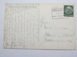 1940 , Zell Am See , Klarer Stempel  Auf Karte - Briefe U. Dokumente