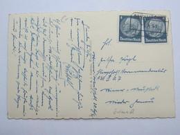 1941 , NEUNKIRCHEN , Klarer Stempel  Auf Karte - Briefe U. Dokumente