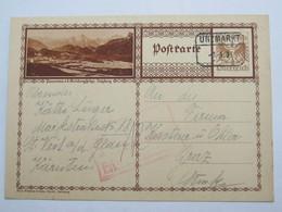 1931 , UNZMARKT , Klarer Stempel  Auf Karte - Briefe U. Dokumente