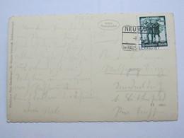 1938 , NEUMARKT Im Hausruckkreis , Klarer Stempel  Auf Karte - Briefe U. Dokumente