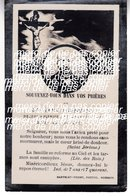 Plénise 1924  Faire Part De Decès Editeur  Martelet Voidey Nozeroy - France