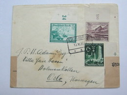 1939 , Vöcklabrück  , Klarer Stempel  Auf Brief - Briefe U. Dokumente