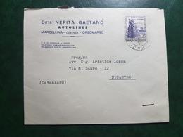 (16260) STORIA POSTALE ITALIA 1959 - 1946-60: Storia Postale