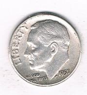 DIMES 1957 USA /1016/ - Émissions Fédérales