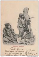 CE11 -    TUNISIE  -   BEDOUINES   MENDIANTES -     2 SCANS - Afrique