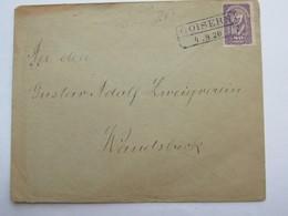 1920 , GOISERN  , Klarer Stempel  Auf Brief - Briefe U. Dokumente