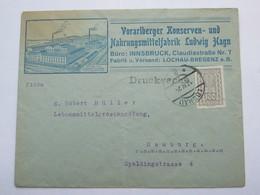1924 , LOCHAU   , Klarer Stempel  Auf Firmen -Brief - Briefe U. Dokumente