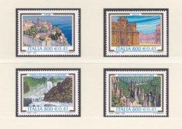 Italy 1999 Tourism 4 Stamps MNH/** (H23) - Holidays & Tourism