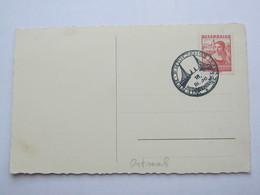 1938 , Wiener Frühjahrsmesse   , Klarer Sonderstempel Auf Karte - Briefe U. Dokumente