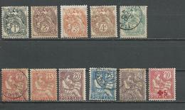 PORT-SAID Scott 18-27, B1, 24a Yvert 20-29, 35, 26a (12) O Et * 24,00 $ 1902-15 - Port-Saïd (1899-1931)