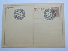 1936 , Bruck - Landesausstellung   , Klarer Sonderstempel Auf Karte - Briefe U. Dokumente