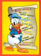 Paperino Disney Donald Duck Donald Dak Paja Patak Aku Ankka  Pato Donald Ntonalt Ntak Bonne Annèe Good Year ... - Disneyworld