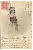 Belle Femme - E Bottaro - Postmark 1902 - Theo Stroefer's - Women