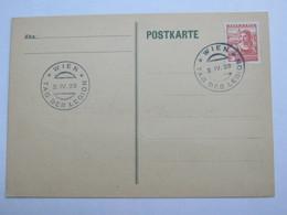 1938 , Wien - Tag Der Legion  , Klarer Sonderstempel Auf Karte - Briefe U. Dokumente