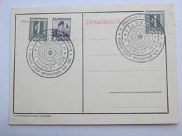 1935 , FELDKIRCH -  Bundesschiessen  , Klarer Sonderstempel Auf Karte - Briefe U. Dokumente