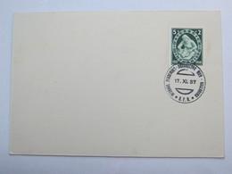 1937 , WIEN - Pfadfinder Ausstellung  , Klarer Sonderstempel Auf Karte - Briefe U. Dokumente