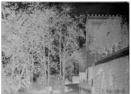 PLAQUE DE VERRE 128mm X 170mm (A. LUMIERE & Ses Fils) VUE DE PAU En 1896  ! - Plaques De Verre