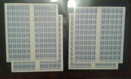 Feuille Complete 100 Petain 520 - Feuilles Complètes